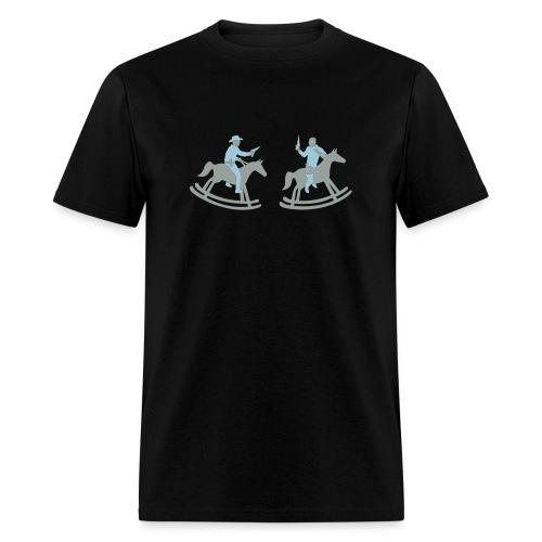 Playing Cowboys. - Men's T-Shirt