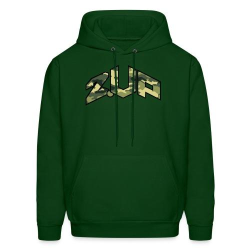 Shaqisdope 2 UP Camo Hood Sweater - Men's Hoodie