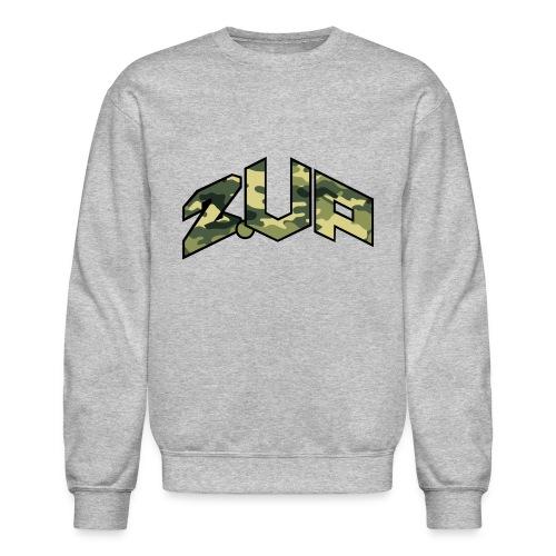 Shaqisdope 2 UP Camo Crewneck Sweater - Crewneck Sweatshirt