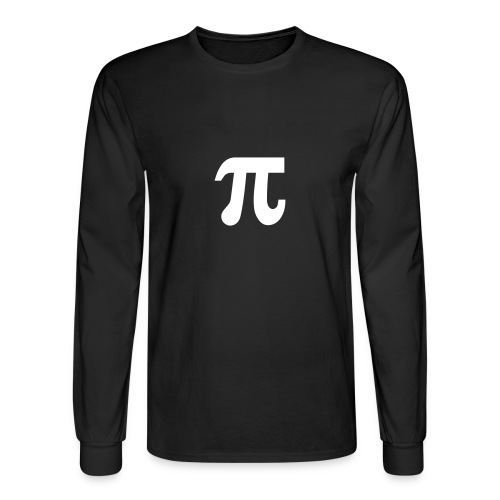 Men's Long Sleeve T-Shirt - Pi