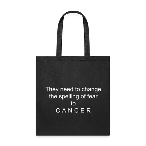 cancer awarness  - Tote Bag