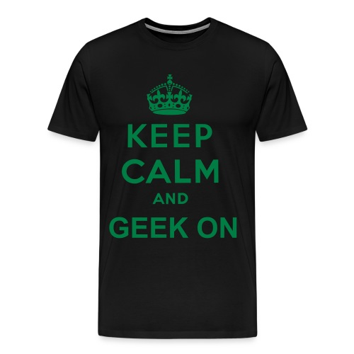 GEEK ON t-shirt - Men's Premium T-Shirt