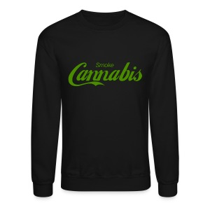 Smoke Cannabis - Crewneck Sweatshirt