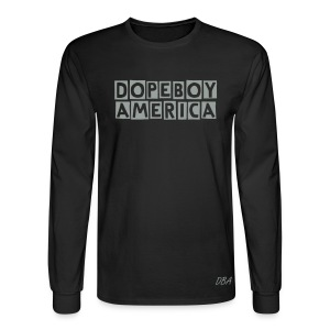 DOPEBOY AMERICA LONG SLEEVE - Men's Long Sleeve T-Shirt