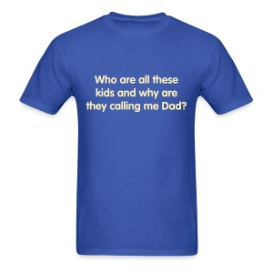 Who are all these kids? - Men's T-Shirt