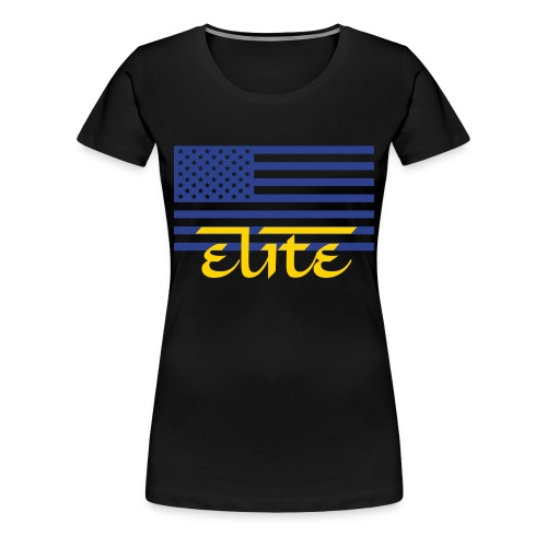 Ladies Elite Nations Tee - Women's Premium T-Shirt
