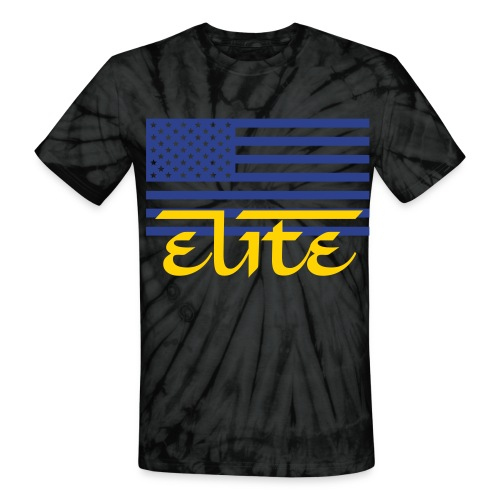 Elite Nations Tie-Dye Tee - Unisex Tie Dye T-Shirt