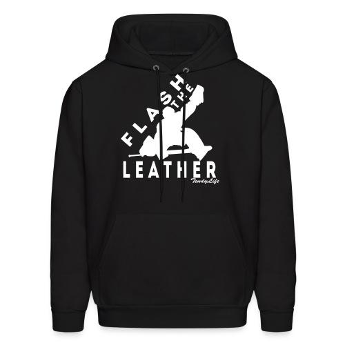 Flash The Leather Hooded Sweatshirt - Men's Hoodie