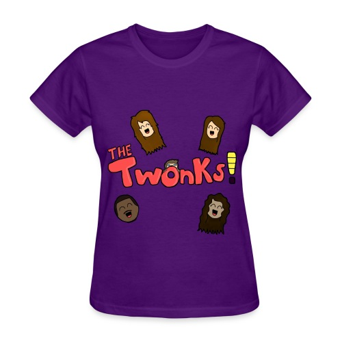 The Twonks Logo T-Shirt (Womens) - Women's T-Shirt