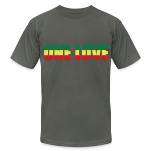 One love - Men's Fine Jersey T-Shirt