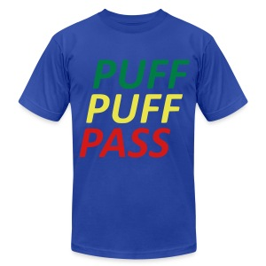 Puff puff pass - Men's T-Shirt by American Apparel