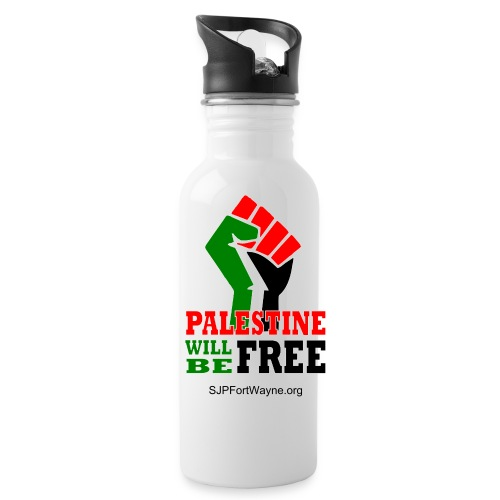 Palestine Will Be Free Water Bottle - Water Bottle