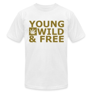 Young wild free - Men's T-Shirt by American Apparel
