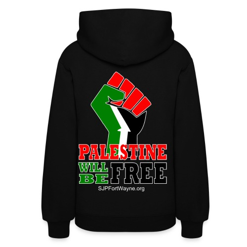Palestine Will Be Free Sweatshirt - Women's Hoodie