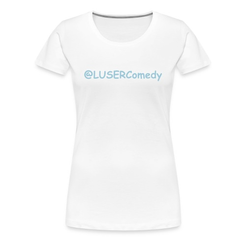 FOLLOW US - Women's Premium T-Shirt