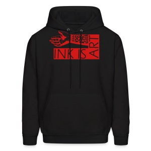 ink is art hoodie all american tattoo - Men's Hoodie