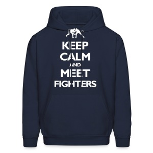 Keep Calm / Fighters hoodie - Men's Hoodie