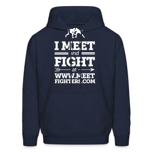 Meet and Fight / Fighters hoodie - Men's Hoodie