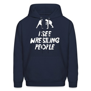 Wrestling People / Fighters hoodie - Men's Hoodie