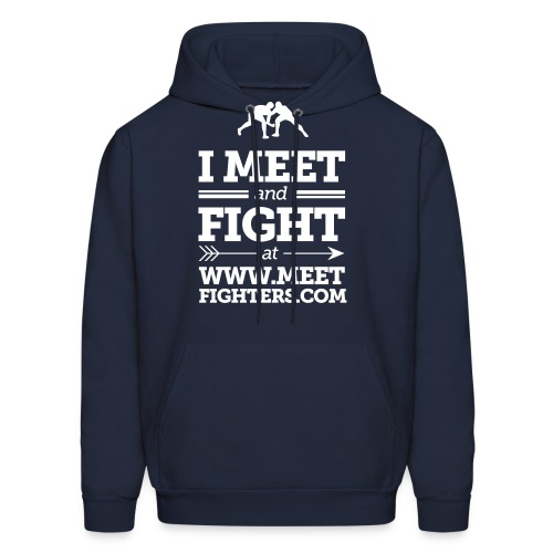 Meet and Fight / Fist hoodie - Men's Hoodie