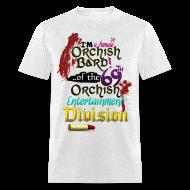 T-Shirts ~ Men's T-Shirt ~ Mens Tee: Orc Bard Colour