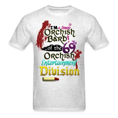 Mens Tee: Orc Bard Colour - Men's T-Shirt