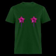 T-Shirts ~ Men's T-Shirt ~ Mens Tee: Owl Tassels