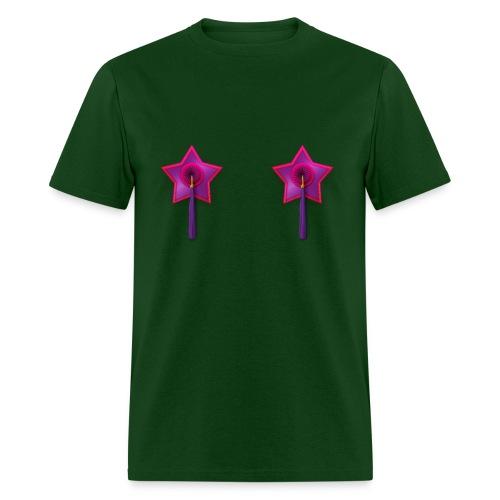 Mens Tee: Owl Tassels - Men's T-Shirt