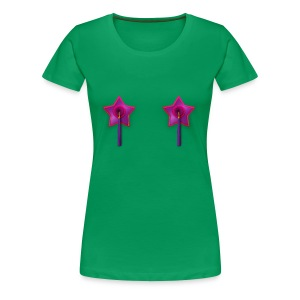 Ladies Tee: Owl Tassels - Women's Premium T-Shirt