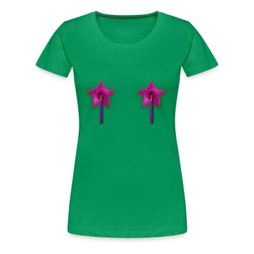 Ladies Tee: Owl Tassels - Women's Premium T-Shirt