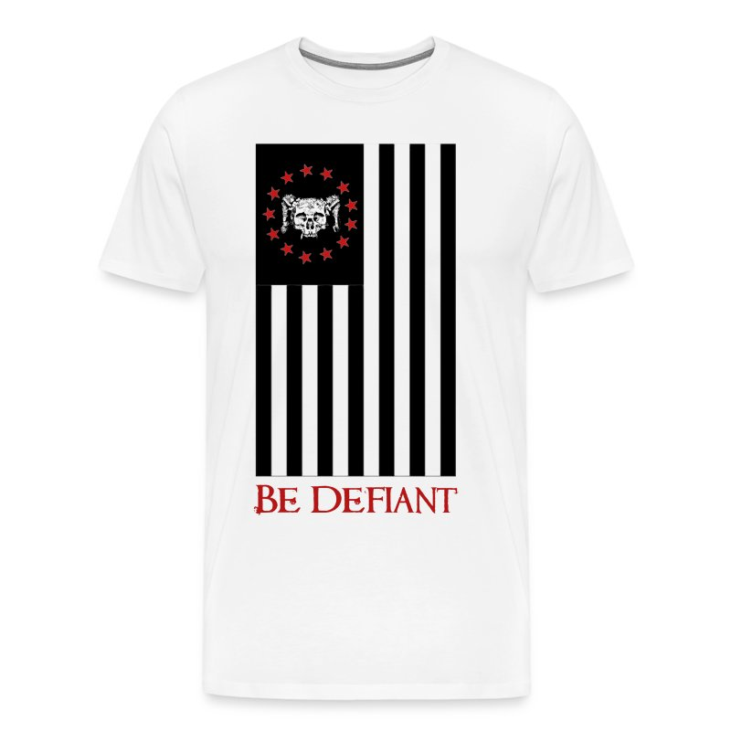 Red, White, and Black Flag - Men's Premium T-Shirt