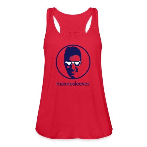 Women's Flowy Tank Top by Bella - youtube,no sleeves,merchandise,maxnosleeves,max no sleeves merchandise,max