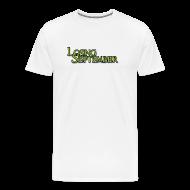 T-Shirts ~ Men's Premium T-Shirt ~ Black Flag Back