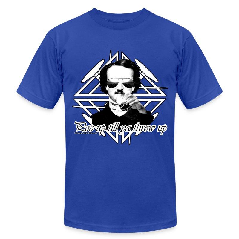 poeupthrowup2013 - Men's Fine Jersey T-Shirt