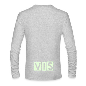 GLOW IN THE DARK TEE (RARE) - Men's Long Sleeve T-Shirt by Next Level