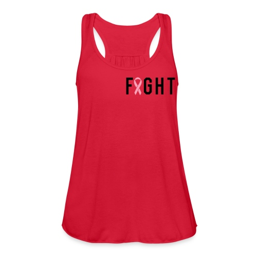FIGHT - Women's Flowy Tank Top by Bella