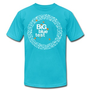 Mens Big Blue Test Classic T - Men's T-Shirt by American Apparel