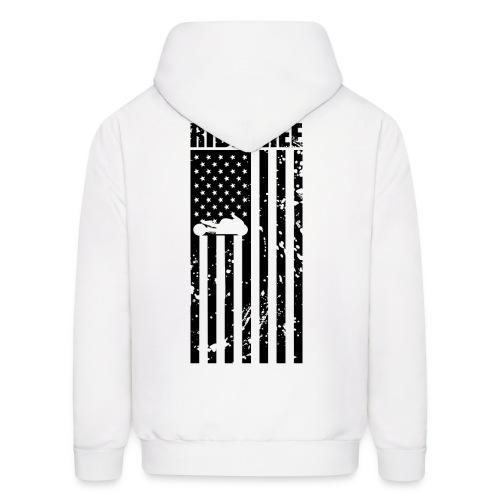 S&S RIDE FREE U.S.A. BLACK - Men's Hoodie