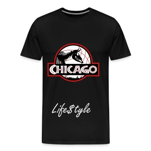 Life$tyle  Chicago Park Tee - Men's Premium T-Shirt