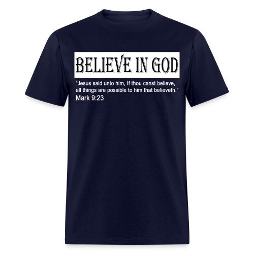 Believe in God tee - Men's T-Shirt