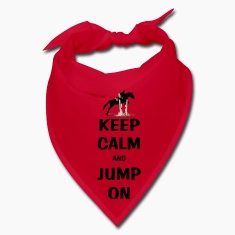 Keep Calm and Jump On Horse Caps