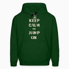 Keep Calm and Jump On Horse Hoodies
