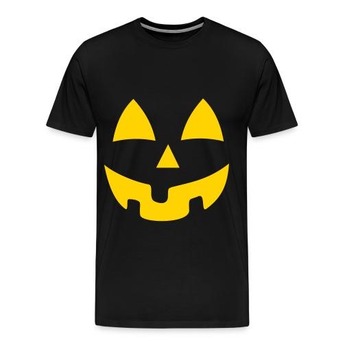Mens Pumpkin - Men's Premium T-Shirt