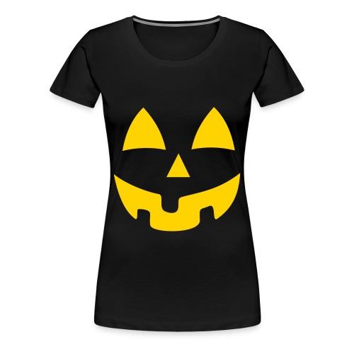 Womans Pumpkin - Women's Premium T-Shirt