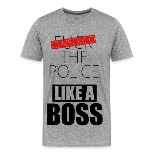 Fuck the police - Men's Premium T-Shirt