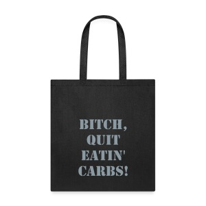 Tote Bag - Keto Stuff! If you need another colour, size, or a censored item, let me know.