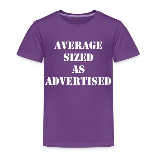Average Sized - Toddler Premium T-Shirt