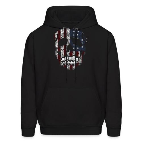 All American Tattoo hooded sweat shirt Mens - Men's Hoodie