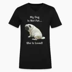 My Dog Is Not Fat Pug Dog T-Shirts