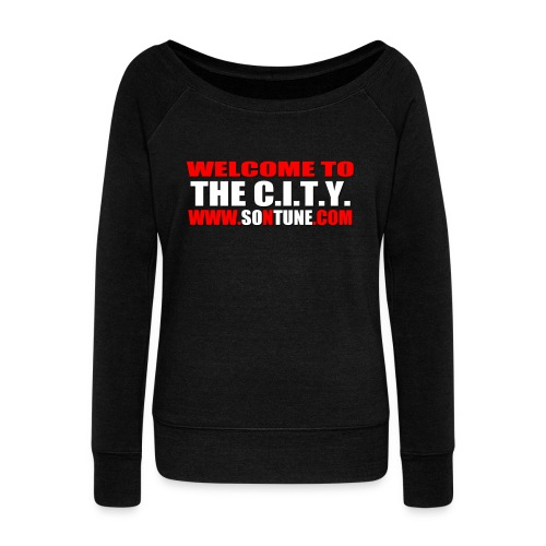Women's Welcome To The C.I.T.Y. Sweat Tee  - Women's Wideneck Sweatshirt